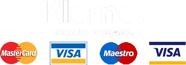 payment method klarna mastercad maestro visa