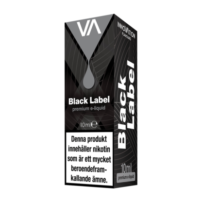 INNOVATION Black Label vape juice has a sour and sweet Arabic tobacco with a persisting pungent hint of the Orient.