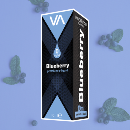 INNOVATION Blueberry vape juice has a strong sweet and dense taste of blueberry.