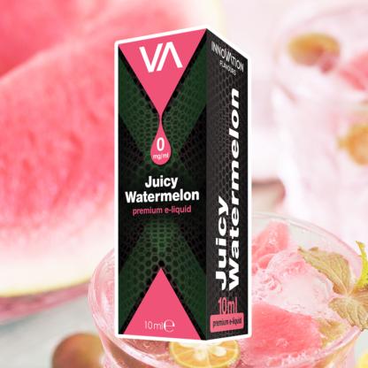 INNOVATION Juicy Watermelon E-juice has a sweet juicy watermelon with deep long lasting aftertaste.