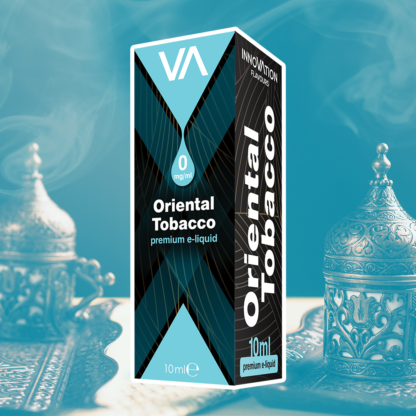 INNOVATION Oriental Tobacco vape juice is the taste of the best old Oriental tobacco ensuring pleasure anytime.