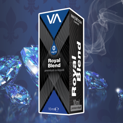 INNOVATION Royal Blend E-juice has unique mild tobacco taste with a slightly perceivable almond hint.