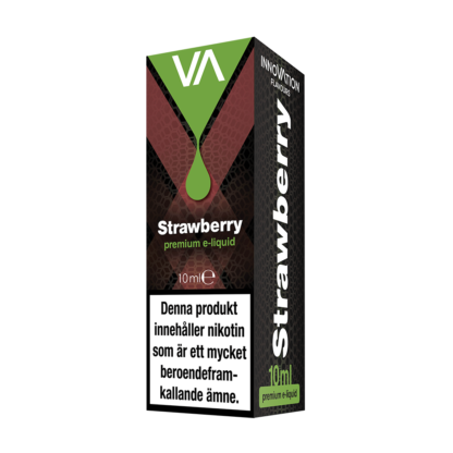 INNOVATION Strawberry E-juice has a fresh forest strawberry taste. Sweet and rich aftertaste.